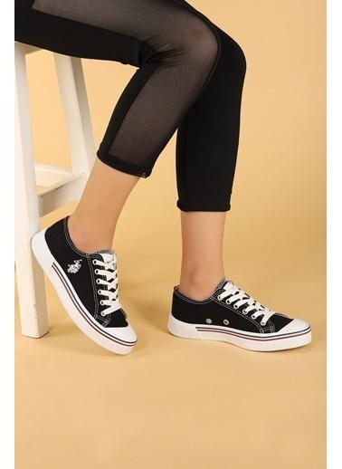 U.S. Polo Assn. U.S. Polo Assn. Penelope Günlük Yürüyüş Bayan Spor Ayakkabı Siyah